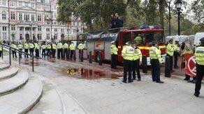 Protestan por medio ambiente en Londres