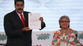 Maduro fue proclamado vencedor de elecciones para gobernar hasta 2025