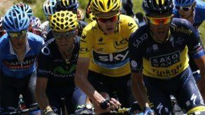 Valverde y Contador ante Froome y el reloj