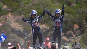 El francés Sébastien Ogier gana el rally de Cerdeña