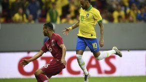 Neymar abandona cojeando amistoso de Brasil contra Catar en el primer tiempo