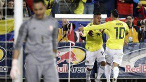 Hernández marca doblete y Colombia gana 3-1 a Costa Rica