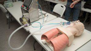 Panamá ensaya en cerdos dos prototipos de ventiladores para pacientes con COVID-19