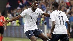 Francia muestra potencial ofensivo y supera 3-1 a Italia