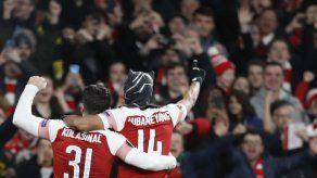Europa: Aubameyang pone al Arsenal en cuartos