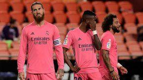 El Valencia golea 4-1 al Real Madrid