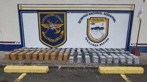 Decomisan 549 paquetes de presunta droga en la Comarca Guna Yala