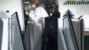 El papa llama al cambio social en Brasil