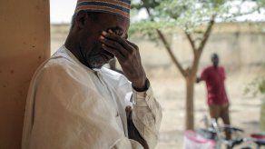Familias nigerianas esperan noticias de hijas secuestradas