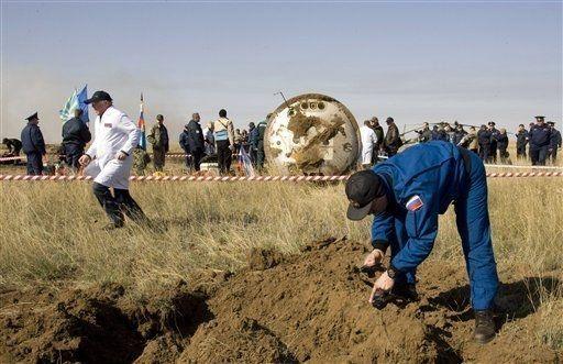 Tripulación del Soyuz estuvo en serio peligro