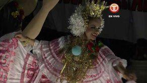 Homenaje al Festival de la Mejorana por la Calle Abajo de Las Tablas