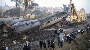 Casi 70 heridos en descarrilamiento de tren en Egipto