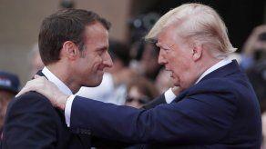 Nuevo choque de Trump con Macron
