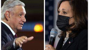 Andrés Manuel López Obrador, tendrá el 7 de mayo un encuentro digital con la Kamala Harris.