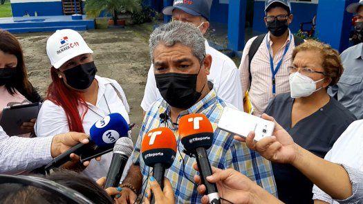 El titular del Minsa, Luis Sucre pidió a los chiricanos cuidarse.