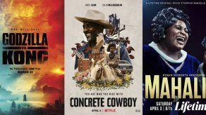 """Lo nuevo esta semana: Godzilla vs Kong y """"Concrete Cowboy"""""""