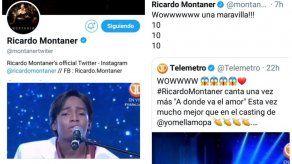 Ricardo Montaner reacciona y se hace eco de Yo me llamo