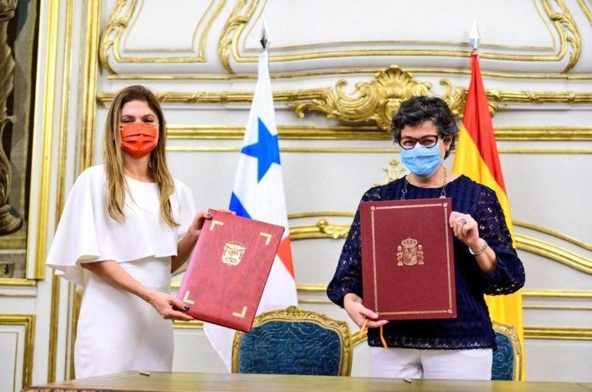 La ministra de Relaciones Exteriores de Panamá