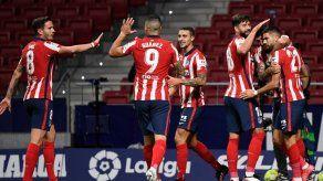 Atlético de Madrid gana a la Real Sociedad y va por LaLiga