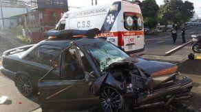 86 accidentes de tránsito se registraron en las últimas 24 horas