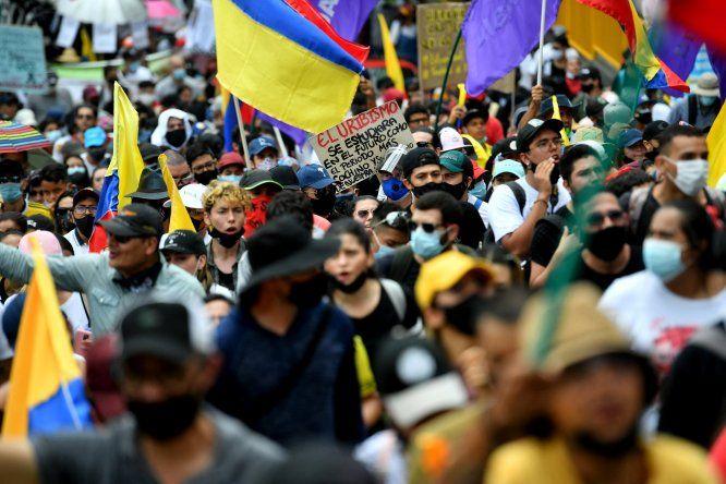 Las movilizaciones tomaron el país hace dos semanas