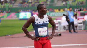 Alonso Edward terminó cuarto en la final de los 200 metros planos en Lima 2019