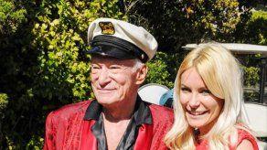 La tercera esposa y viuda de Hugh Hefner se despide de él recordando cuánto le amó