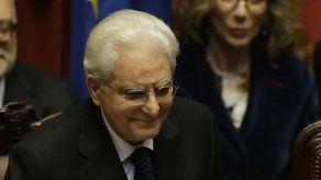 Nuevo presidente italiano denuncia intolerable corrupción