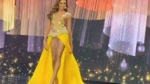 Angie Keith sorprende en su primera aparición de la preliminar del Miss Grand International