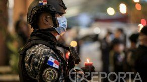Celebración del Día del Policía Panameño tuvo una mezcla particular de sentimientos