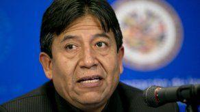 Excanciller candidato a presidente por partido de Morales