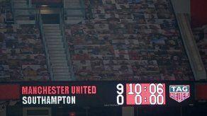 Manchester United golea 9-0 al Southampton y empata con City en el liderato