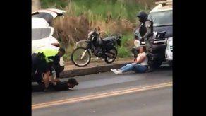 Policía frustra privación de libertad en Pedregal
