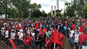 Grupos sindicales de Panamá conmemoran el Día del Trabajador mediante marcha virtual