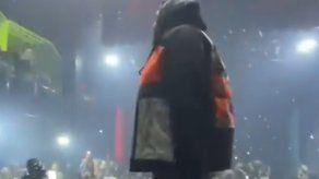 Sech realiza su primer concierto tras la pandemia