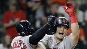 Vázquez y Benintendi aportan jonrones a triunfo de Boston