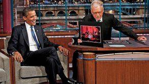 David Letterman vuelve a las pantallas con entrevista a Obama