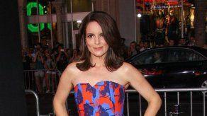 Tina Fey prefiere que sus encuentros con celebridades sean breves