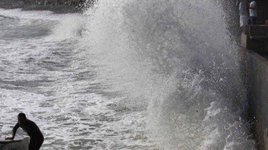 La advertencia por fuertes oleajes se extiende hasta este viernes 23 de julio.