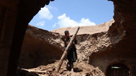 La provincia occidental de Herat, Afganistán, es la más afectada por las precipitaciones, donde 22 personas han muerto a consecuencia de unas lluvias que todavía continúan en buena parte del país.