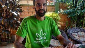 Aumentan a 5 años condena contra abanderado en Paraguay de cannabis medicinal