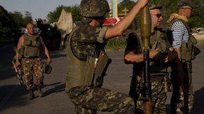 Ucrania dice que 15 rebeldes murieron en combates
