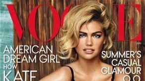 Kate Upton llega a la portada de Vogue