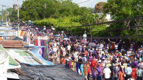 Cientos de devotos de Jesús Nazareno se trasladan hacia Atalaya