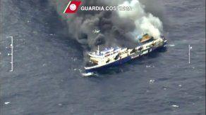 Cinco muertos en el ferry incendiado en el Adriático