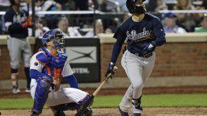 Bravos con jonrón de Johan Camargo arrollan a Mets
