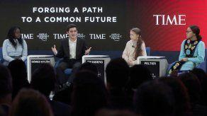 Thunberg critica en Davos la falta de acción climática