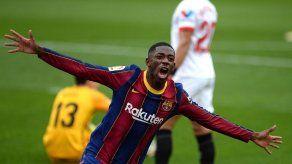 Dembele vuelve a la selección francesa a tres meses de la Eurocopa