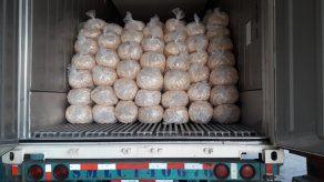 En el 2020 Panamá exportó un total de 28 contenedores de plátano sin cáscara.