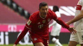 Bayern y Lewandowski arrasan al Stuttgart
